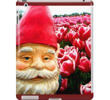 Sugared flowers Gnome I iPad Case/Skin