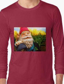 Yellow and Sky Gerome Long Sleeve T-Shirt