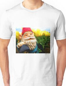Yellow and Sky Gerome Unisex T-Shirt
