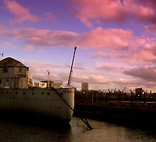 HMS Caroline, Belfast by Chris Millar