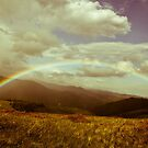 Colours of light over the mountains by iulix