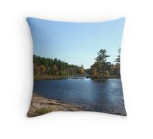 Port Sydney - Muskoka Throw Pillow