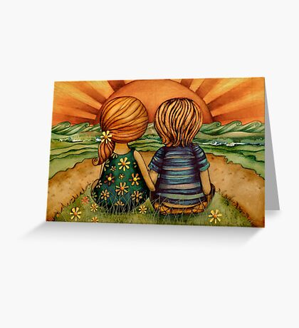 Sweethearts Greeting Card