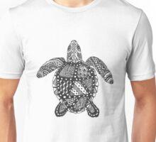 Sea Turtle Zentangle Unisex T-Shirt