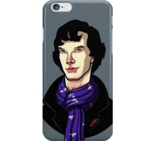 Sherlock Bust iPhone Case/Skin