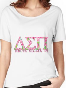 Delta Sigma Pi Women's Relaxed Fit T-Shirt
