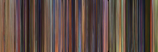 Moviebarcode: Toy Story Trilogy (1995-2010) by moviebarcode