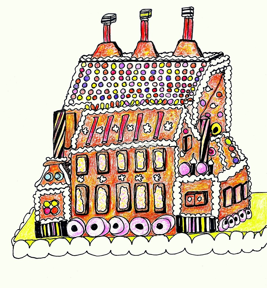 Gingerbread Factory by Sam Parr