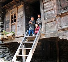 home. himalayan mountains, nepal by tim buckley | bodhiimages