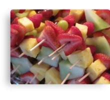 """""""Fruit-ca-bobs"""" Canvas Print"""
