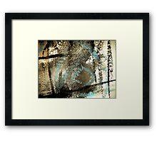 turning a blind eye.... Framed Print