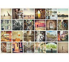 Postcard from Melbourne, Australia Photographic Print