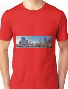 Brisbane and the Riverside Expressway , Qld, Australia Unisex T-Shirt