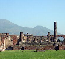 Mt. Vesuvius by Jessica Liatys