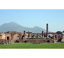 Mt. Vesuvius Photographic Print