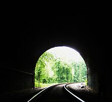 At the end of the tunnel by elasita