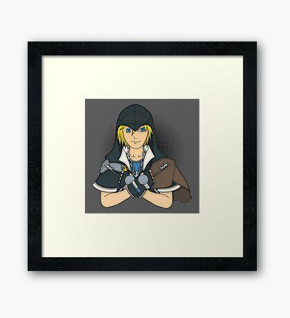 Hearts Assassin Framed Print