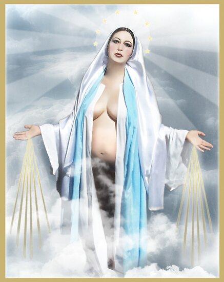 Virgin Mary  by Analisa Ravella