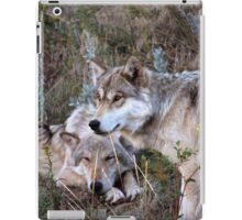 Wolf Picture ~ Family Ties iPad Case/Skin
