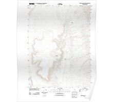 USGS Topo Map Oregon Oregon End Table 20110818 TM Poster