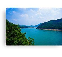 Cheongpung Lake, South Korea Canvas Print