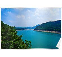 Cheongpung Lake, South Korea Poster