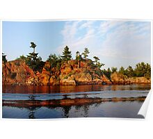 Ox Bay - French River  Poster