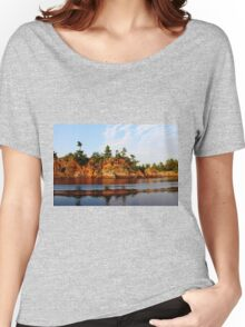 Ox Bay - French River  Women's Relaxed Fit T-Shirt