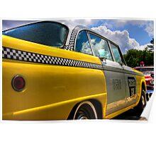 Checker Cab Poster