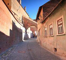 Narrow alley by zumi