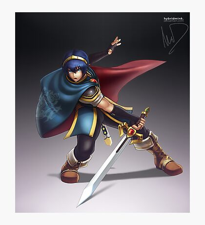 Marth Photographic Print