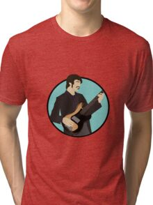 The Band: Rick Danko Tri-blend T-Shirt