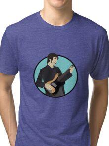 The Band: Rick Danko Tri-blend T-Shirt