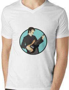 The Band: Rick Danko Mens V-Neck T-Shirt