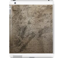 1912 Map of Prince William Sound, Alaska iPad Case/Skin