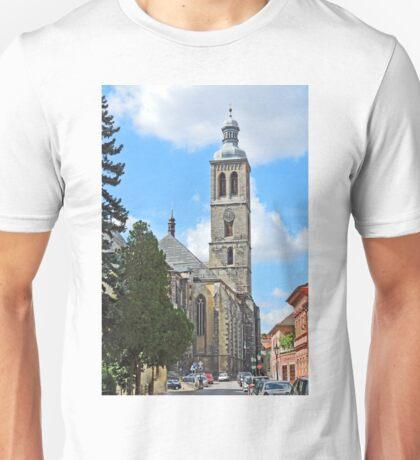 St James Church, Kutna Hora Unisex T-Shirt