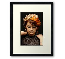 mix color Framed Print