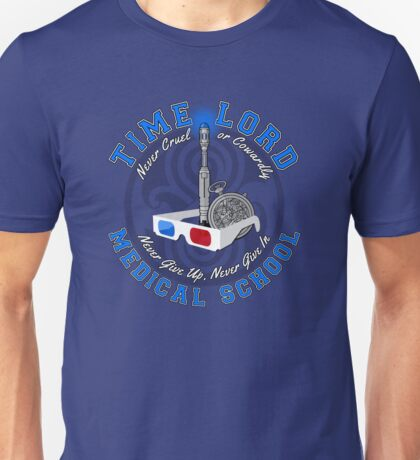 Time Lord Medical School 10 Unisex T-Shirt