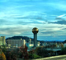 Knoxville Sun-sphere by Evan Clearman