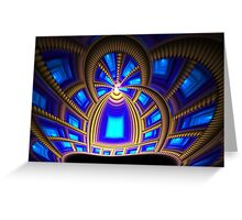 Royal Blue Greeting Card