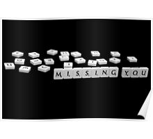 Missing...... You! Poster