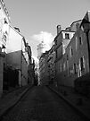 Backstreets of Montmartre by minikin