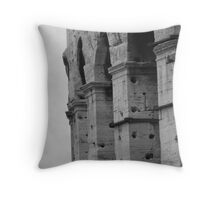 The Coliseum - close up Throw Pillow
