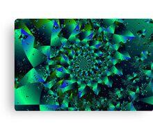 Iridescent Spiral Canvas Print