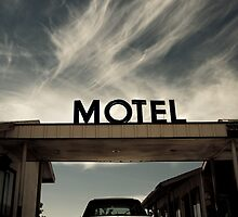 Mojave Desert Motel by Graham Gilmore