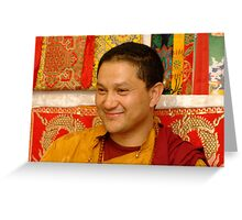 His Eminence Zimwock Rinpoche Greeting Card