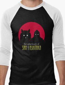 The Adventures of San & Ashitaka Men's Baseball ¾ T-Shirt