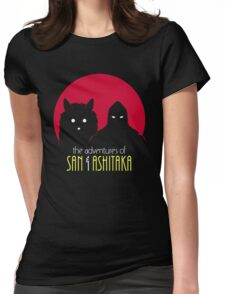 The Adventures of San & Ashitaka Womens Fitted T-Shirt