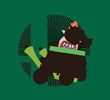 Bowser Jr (Forward B) - Sunset Shores Unisex T-Shirt