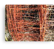 Rusty Roll Canvas Print